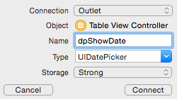 How To Show And Hide A Date Picker From A Table View Cell Thomas